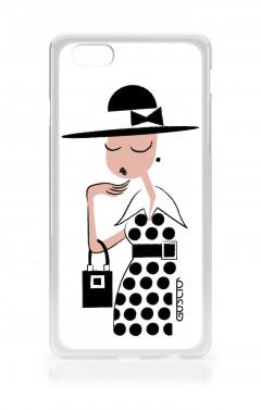 Apple iPhone 6/6s - Signorina con vestito a pois