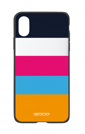 Cover Bicomponente Apple iPhone X/XS - Righe Sport