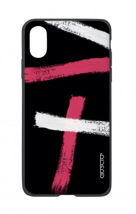 Cover Bicomponente Apple iPhone X/XS - Fantasia su nero