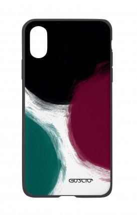 Cover Bicomponente Apple iPhone X/XS - Grandi pois