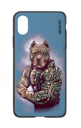 Cover Bicomponente Apple iPhone X/XS - Pitbull Tattoo