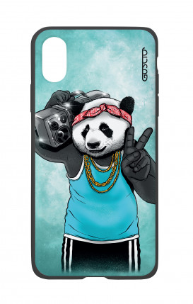 Cover Bicomponente Apple iPhone X/XS - Panda anni '80
