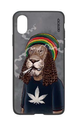 Cover Bicomponente Apple iPhone X/XS - Leone Rasta