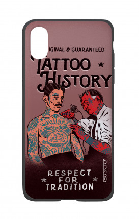 Cover Bicomponente Apple iPhone X/XS - Tattoo History