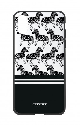 Apple iPhone X White Two-Component Cover - Zebra Fantasy