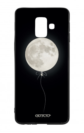 Samsung A6 WHT Two-Component Cover - Moon Balloon