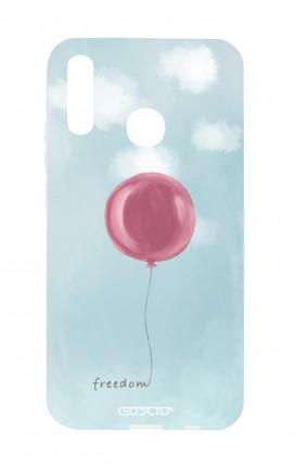 Cover TPU Huawei P Smart 2019 - palloncino della libertà
