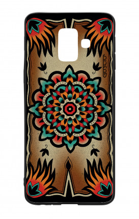 Samsung A6 WHT Two-Component Cover - Old School Tattoo Frame