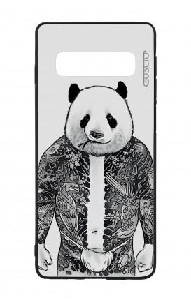 Samsung S10Plus WHT Two-Component Cover - Panda Yakuza