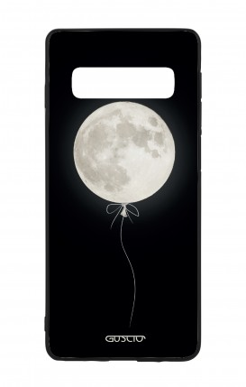 Samsung S10 WHT Two-Component Cover - Moon Balloon