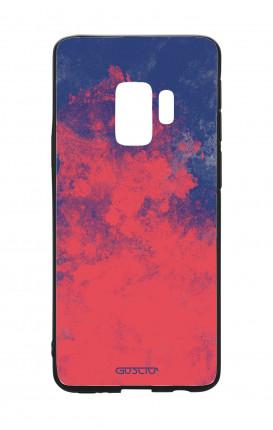 Cover Bicomponente Samsung S9 - Mineral RedBlue