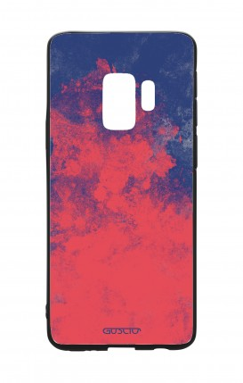 Samsung S9 WHT Two-Component Cover - Mineral Red Blue