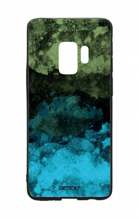 Cover Bicomponente Samsung S9 - Mineral BlackLime