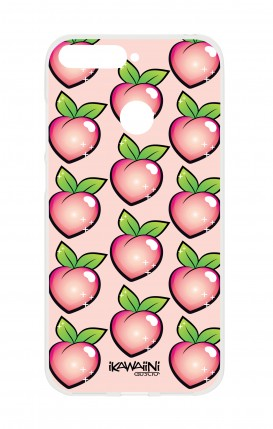 Cover HUAWEI Y6 2018 Prime - Peaches Pattern Kawaii