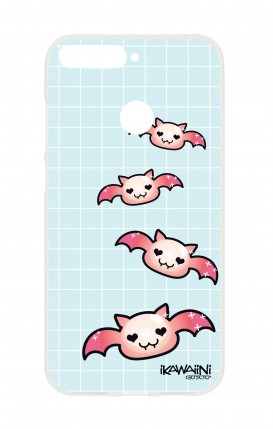 Cover HUAWEI Y6 2018 Prime - Bat Kawaii