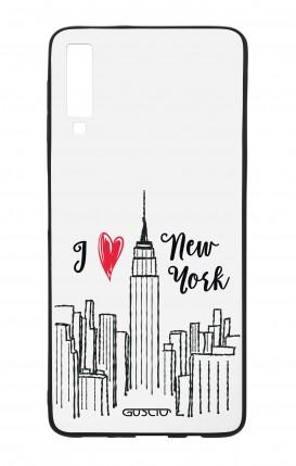 Cover Bicomponente Samsung A50 - I love NY