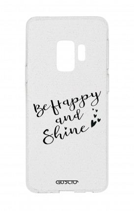 Cover GLITTER SOFT Sam S9Plus - BeHappy&Shine