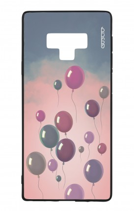 Samsung Note 9 WHT Two-Component Cover - Balloons