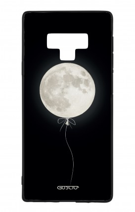 Samsung Note 9 WHT Two-Component Cover - Moon Balloon