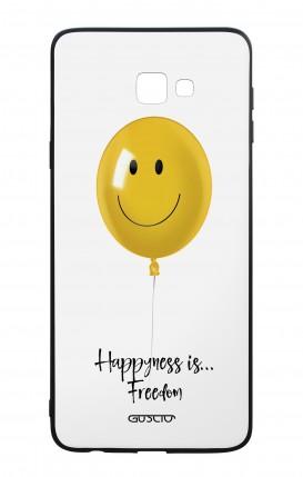 Cover Bicomponente Samsung J4 Plus - Palloncino Happiness