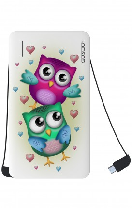 Power Bank 5000mAh Type-C+Android - New Double Owl