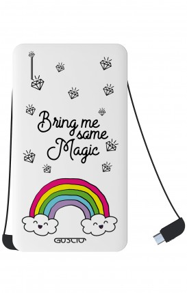 Power Bank 5000mAh Type-C+Android - l'arcobaleno magico