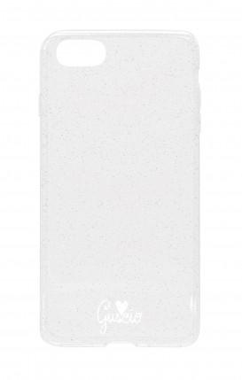 Cover Glitter Soft Apple iPhone 7/8 - Guscio con Amore