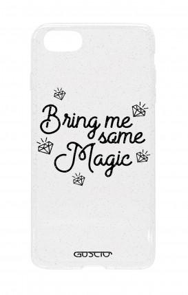 Cover Glitter Soft Apple iPhone 7/8 - Portami qualcosa di magico