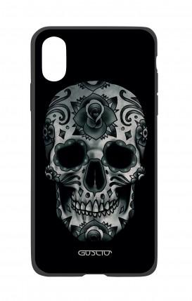Apple iPhone XR Two-Component Cover - Dark Calavera Skull