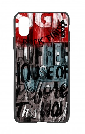 Cover Bicomponente Apple iPhone XR - Coffee House