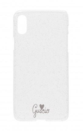 Cover GLITTER SOFT Apple iPhone XR TRS - Guscio con Amore