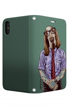 Case STAND Apple iphone XR - Italian Hound