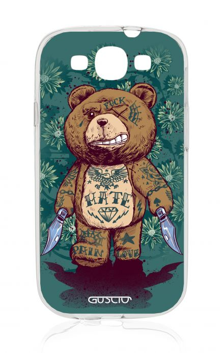 Cover Samsung Galaxy S3 GT i9300 - Killin' Teddy