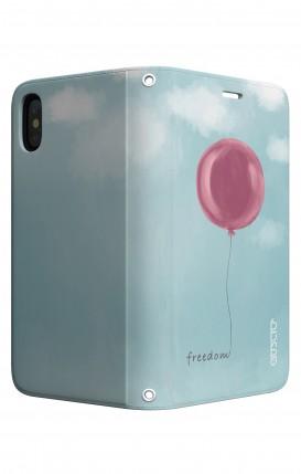 Cover STAND Apple iphone XS MAX - palloncino della libertà