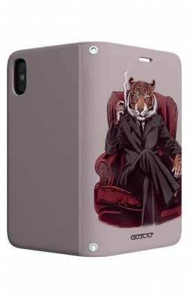 Case STAND Apple iphone XS MAX - Elegant Tiger