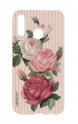 Cover Huawei P30 Lite - Roses and stripes