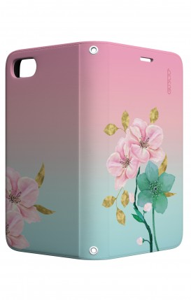 Cover STAND Apple iphone 6/6s - Fiori rosa
