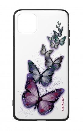 Cover Bicomponente Apple iPhone 11 - Volo di farfalle