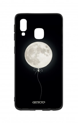 Samsung A40 WHT Two-Component Cover - Moon Balloon