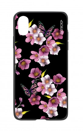 Apple iPhone X White Two-Component Cover - Cherry Blossom