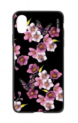Cover Bicomponente Apple iPhone X/XS - Fiori di ciliegio