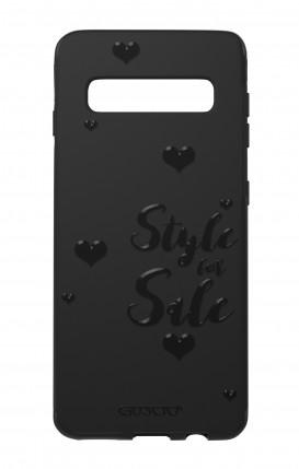 Cover Skin Feeling Samsung S10e BLACK - Style for Sale