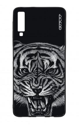 Cover Bicomponente Samsung A70  - Tigre nera