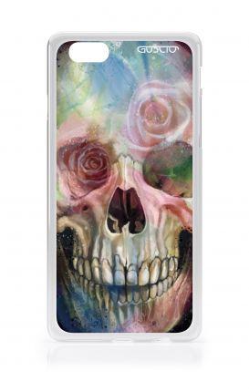 Cover Apple iPhone 6/6s - Teschio fiorato