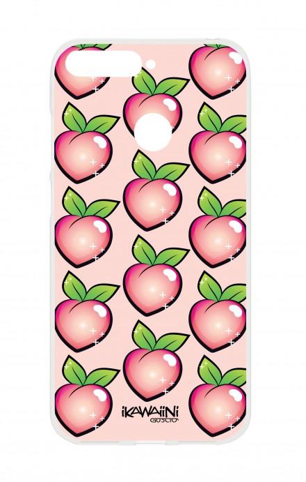 Cover HUAWEI P SMART - Peaches Pattern Kawaii