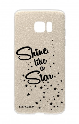 Cover GLITTER Samsung S7Edge GLD - Shine Like a Star