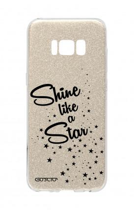 Cover GLITTER Samsung S8 GLD - Shine Like a Star
