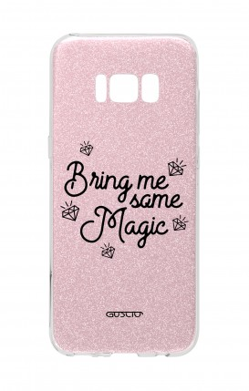 Cover GLITTER Samsung S8 PNK - Portami qualcosa di magico