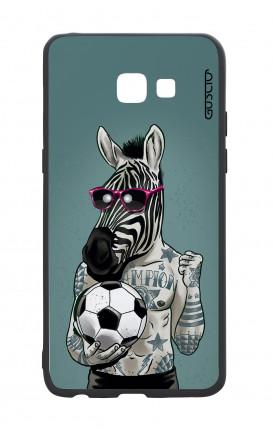 Samsung A5 2017 White Two-Component Cover - Zebra