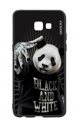 Samsung A5 2017 White Two-Component Cover - B&W Panda